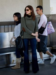 Ashley Greene in J Brand jeans
