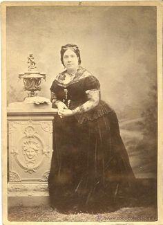 Fotografía de Debas de la Reina Isabel II de España