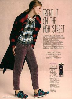 Trend it on the high street, Company UK #SeptemberIssue #United Nude, #Sport #shoes