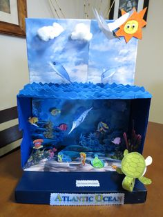 diorama del oceano Zarah Lavariega