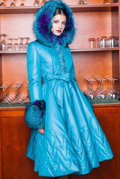 """Зимнее пальто Айна - 3: фото, цена. Индивидуальный пошив в салоне """"Tango"""""""