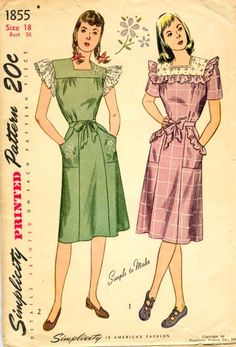 1940's Country Outfits