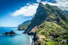 Hike Madeira, Portugal on the volcanic island of Madeira.