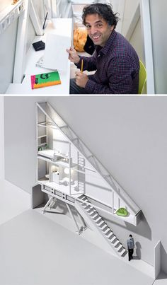 The world's skinniest home. It's just 4 feet wide!