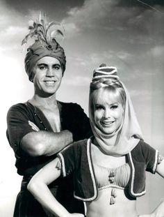 Michael Ansara (April 15, 1922 – July 31, 2013)  & X-wife Barbara Eden
