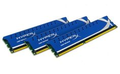 Kingston HyperX 12GB Kit (3x4GB Modules) 1600MHz DDR3 DIMM Desktop Memory (KHX1600C9D3K3/12GX) 12GB Kit including three 4GB modules of 1600MHz DDR3 Desktop Memory. Utilizes HyperX module with faster latency timing for higher performance and speed. Specifically designed and tested for compatibility in various makes and models of desktop computers. From the industry leader in PC memory. Non-ECC Low-... #Kingston #CE
