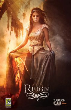 Reign. The dresses in this show are gorgeous beyond belief! I wish I had all of them and the occasions to wear them.