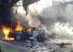 Activists say airstrikes in northern Syria kill more than 20