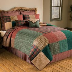Greenland Home Fashions New Bohemian Cotton Patchwork Quilt Set (Sham Separates) - Overstock Shopping - Great Deals on Quilts Colchas Quilt, Twin Quilt, Quilt Bedding, Bedding Sets, Boho Bedding, Luxury Bedding, Bohemian Quilt, Bed Duvet Covers, Pillow Shams