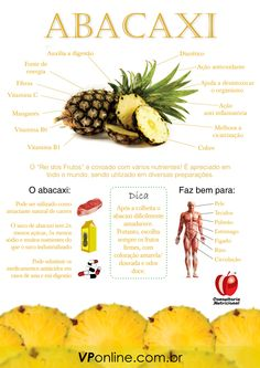 Abacaxi - Benefícios para a saúde