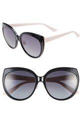 Dior 'Diorific' 57mm Oversized Sunglasses