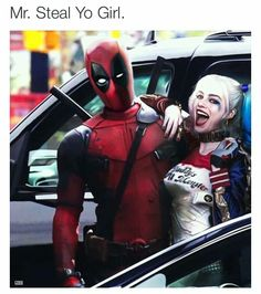 Deadpool and Harley Quinn