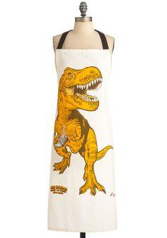 Dinosaur apron