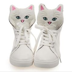 Cute Cat Lovers Shoes – Lovely Online Deals