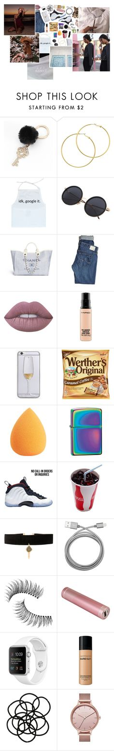 """""""tiαbiα ✨"""" by dis-trict ❤ liked on Polyvore featuring Mudd, Melissa Odabash, AG Adriano Goldschmied, Lime Crime, MAC Cosmetics, Zippo, NIKE, INC International Concepts, Vanessa Mooney and Belkin"""