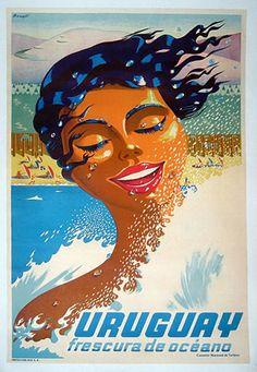 1938 Uruguay Poster by Bonelli