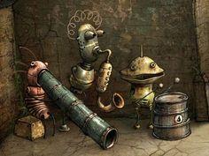 Machinarium robot band