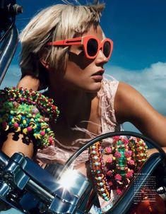Gafas de sol rojas - Red sunglasses - Colourful - Sunnies - Sunglasses - Shades - Gafas de sol