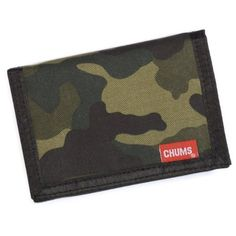 Chums Camo Wallet, Jungle Color by Chums. $12.61