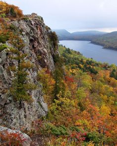 Porcupine Mountains & Lake of the Clouds