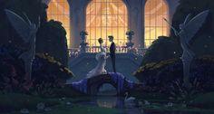 ArtStation - Daisy and Gatsby, Cathleen McAllister