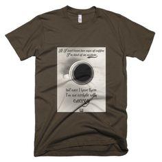'Coffee asshole' men's t-shirt