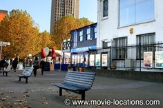 Love Actually filming location: Liam Neeson's heart-to-heart: Gabriel's Wharf, South Bank, London