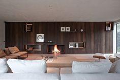 Design: Benoit Viaene Fireplace: De Puydt nv(Metalfire) Photo: Jan Verlinden