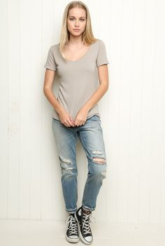 Brandy ♥ Melville | Bree Top - Clothing