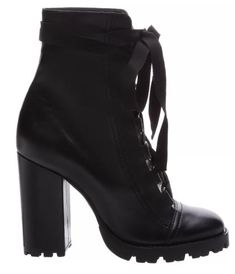 COMBAT BOOTS SOLA TRATORADA LEATHER BLACK Combat Boot Outfits, Black Combat Boots, Booty, Fashion Outfits, Heels, Leather, Bags, Accessories, Clothes