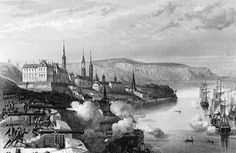 This is what Québec City looked like in 1690.