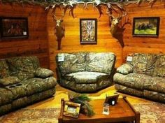 I love this! Perfect Woman Cave!!