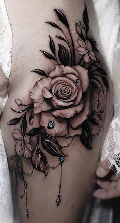 80 Fotos de tatuagens femininas na perna para se inspirar - Fotos e Tatuagens