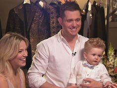 """Michael Bublé adorably gushes over new baby Noah"" and talks about his wonderful views on his career and family. What a neat and respectable man!"