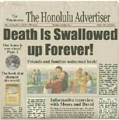 Future Newspaper Headline out of Honolulu, Hawaii