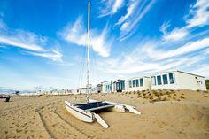 Urlaub in den Niederlanden Zandvoort Strand