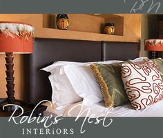 Unique, understated elegance is vital when it comes to the design and layout of guest accommodation. Contact Robins Nest for friendly and professional services. Nest, Elegant, Interior, Home, Bed, Bed Pillows, Pillows, Interior Photo