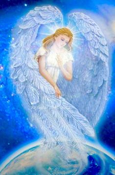 Angels - a gallery of beautiful Angel artwork by various artists. The collection of Angel images here is truly inspirational. The images have been credited to the artists where known. Angel Quotes, Your Guardian Angel, I Believe In Angels, Angel Pictures, Angel Images, Angels Among Us, Angels On Earth, Blue Angels, Angels In Heaven