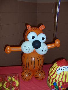 Tiger Balloon by Bama Balloons