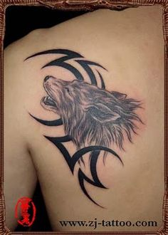 wolf plus #totem #tattoo