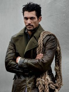 David Gandy for Man of the World Magazine - january 2014