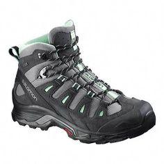 1e5981060039ba trail running shoes · Women s Salomon Quest Prime GORE-TEX Ankle Boot -  Detroit Asphalt Lucite Green
