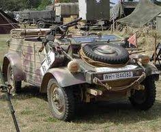 A restored Type 82 Kubelwagen used in reinactment displays.