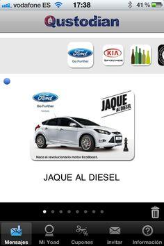 Ford Focus EcoBoost #MarketingMovil http://blog.es.qustodian.com/?p=2353