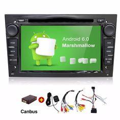 buy android 6 0 quad core 2 din car dvd player for opel astra vectra antara zafira corsa gps navigation #opel #astra