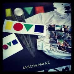 Jason Mraz. Obsession. Pre-order everything. So happy the day this came in the mail