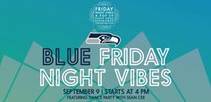 Celebrate Blue Friday With Steve Largent And Jim Zorn This Friday At…