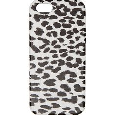 Saint Laurent White and Black Babycat iPhone Case 5 (990 ARS) ❤ liked on Polyvore featuring accessories, tech accessories, iphone case, print iphone case, iphone sleeve case, yves saint laurent and apple iphone cases