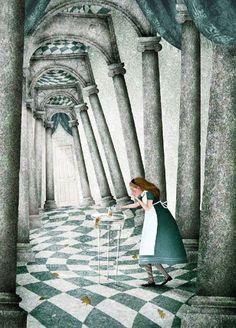 Iban Barrenetxea1 32 ilustrações de Alice no País das Maravilhas