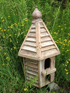 Large Wooden Bird Houses | SHOP NECTAR: Home of fair trade and unique gifts, teas, architectural details, reclaimed and custom furnishing from around the world all in High Falls, NY